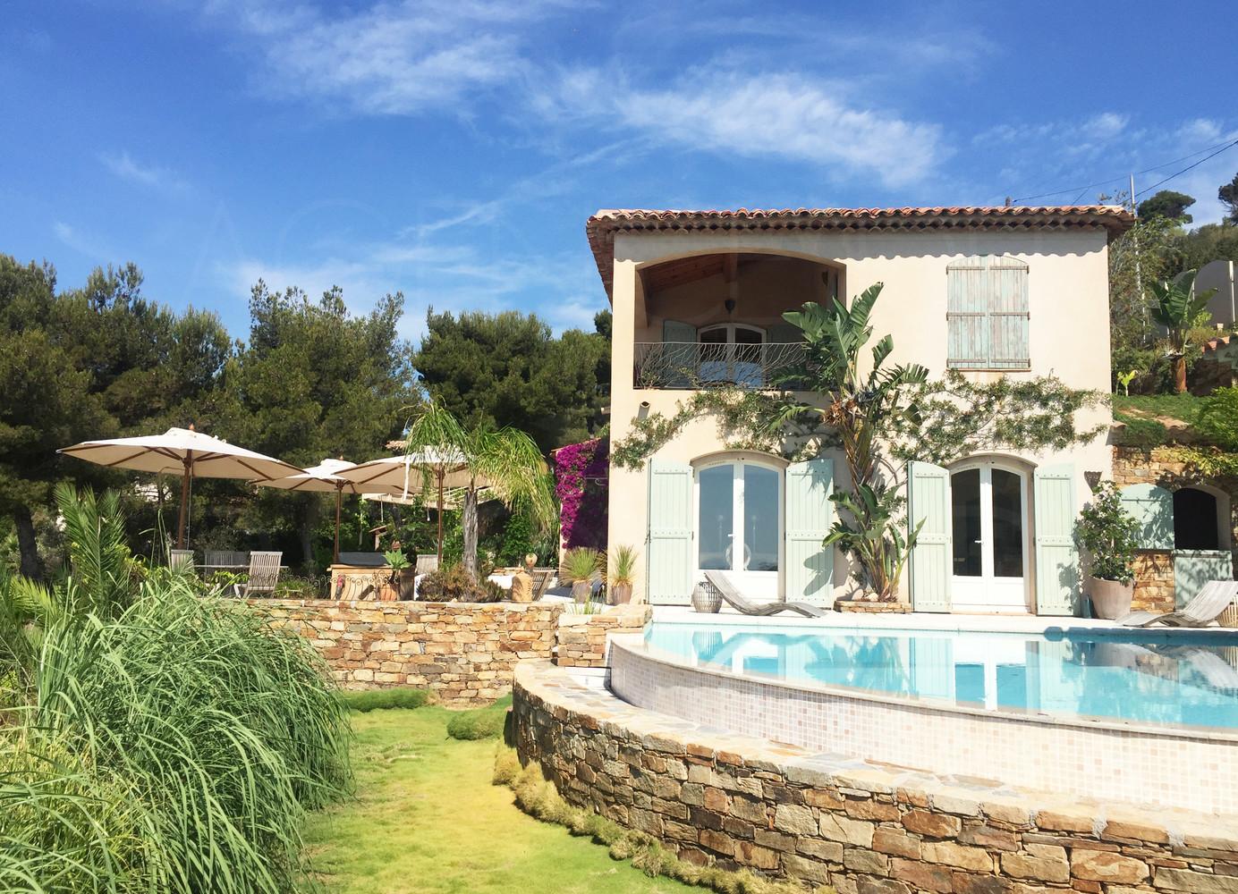 Villa Plein Sud A Carqueiranne Face A La Mer