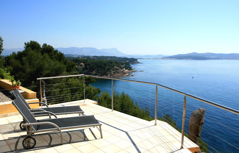 Vente achat fabregas la seyne toulon var sud villa for Alarme piscine home beach