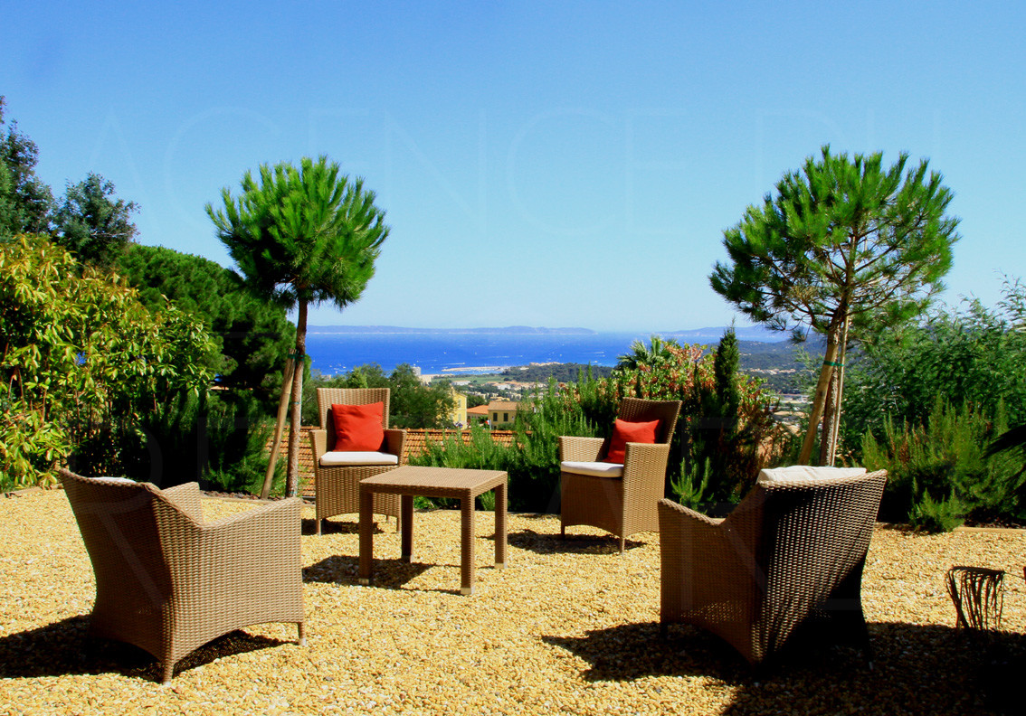 Achat vendre maison villa neuve bormes les mimosas vue for Achat maison neuve villebon sur yvette