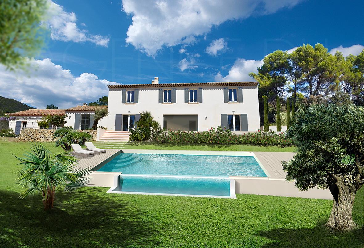 Vendre achat maison villa propri t grimaud port grimaud st tropez maison avec piscine - Les jardins de la mer grimaud ...