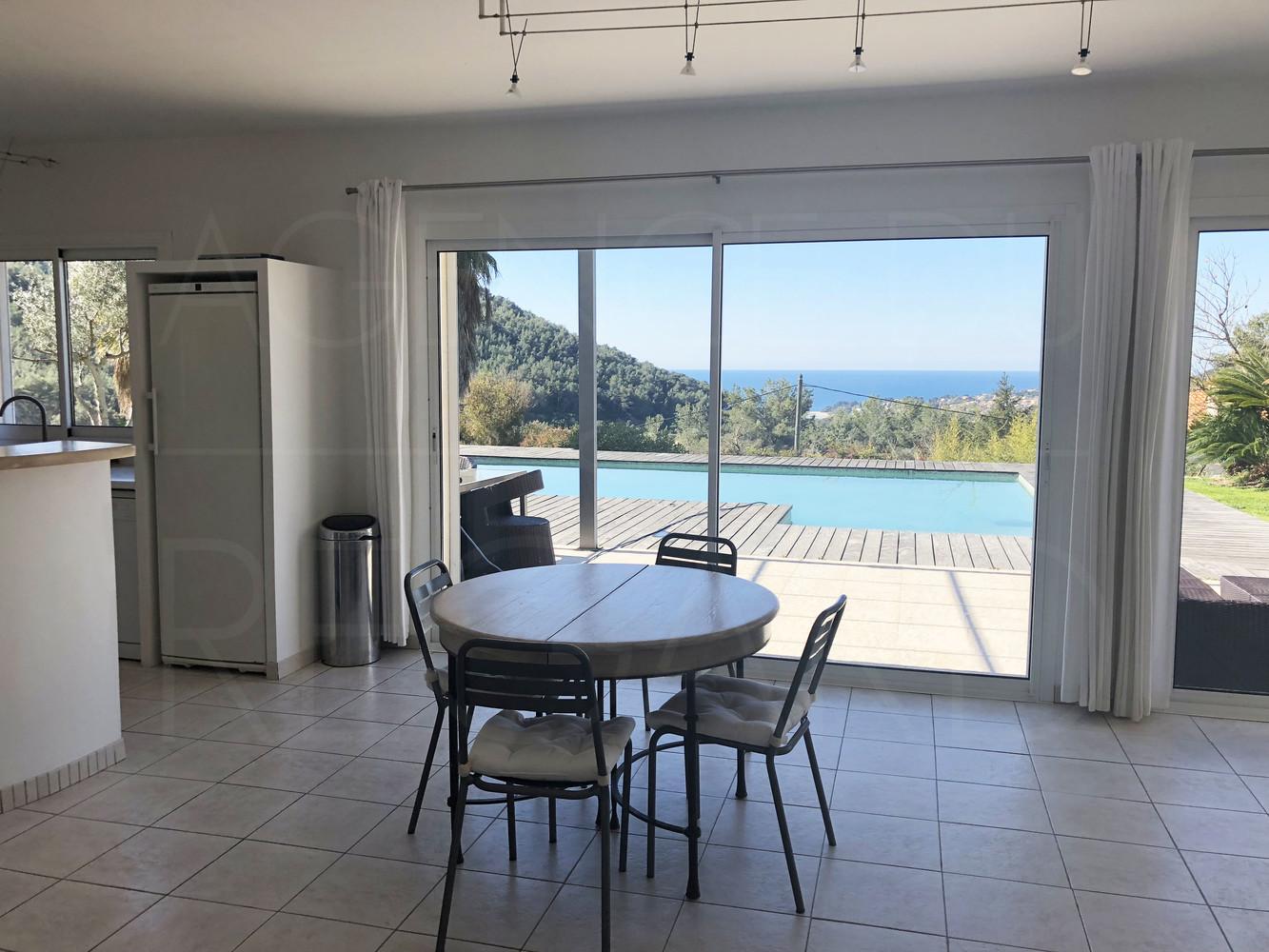 Maison vue mer a carqueiranne achete villa avec 4 for Agence brun paysage