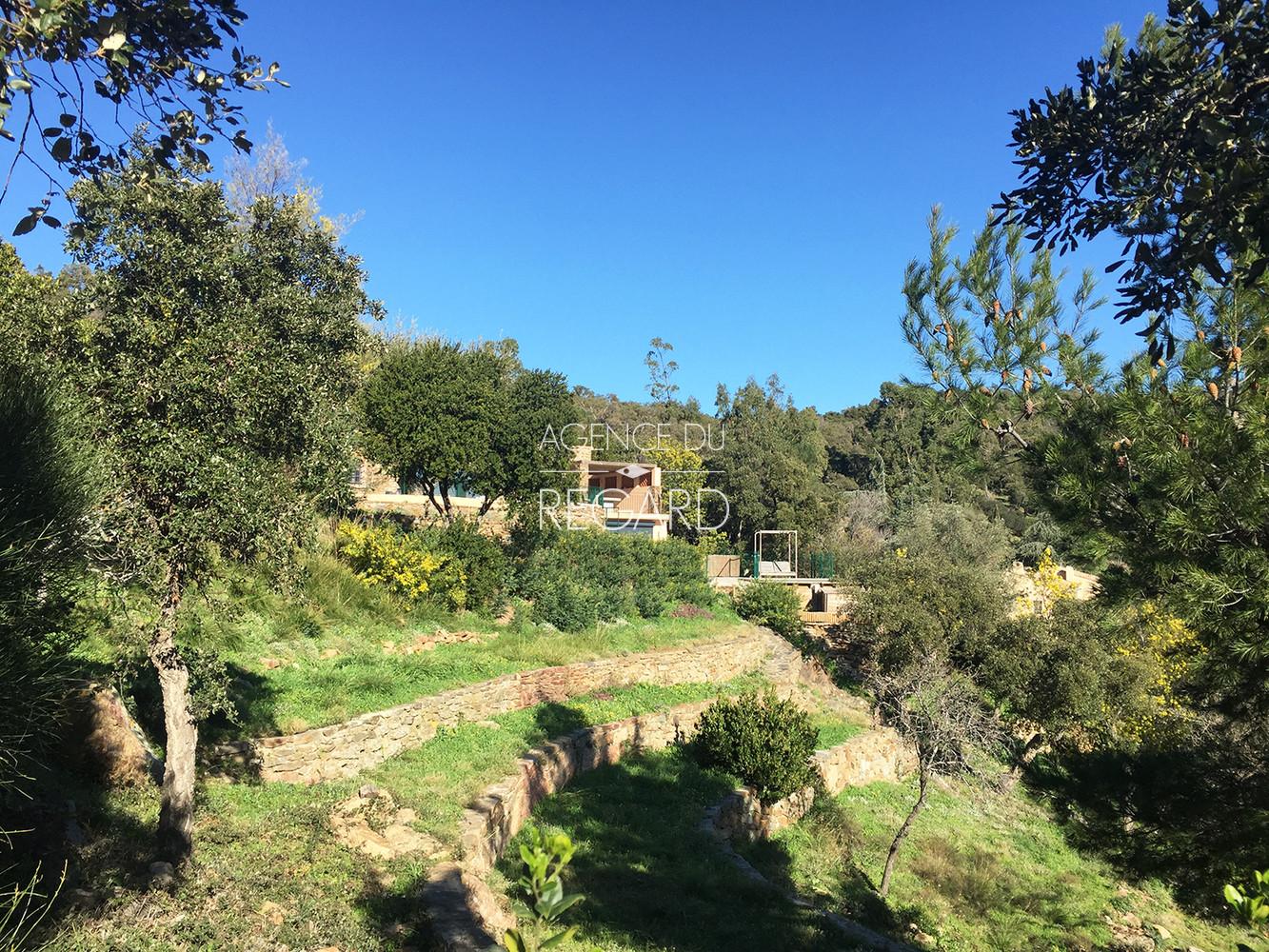 Propri t a bormes les mimosas vue mer panoramique villa avec 5 chambres sud - Chambre d hote bormes les mimosas ...