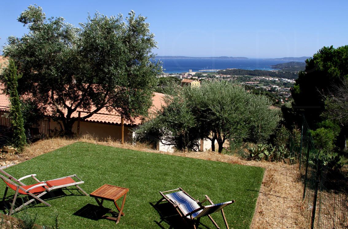 Achat vendre maison villa neuve bormes les mimosas vue for Achat maison neuve 14