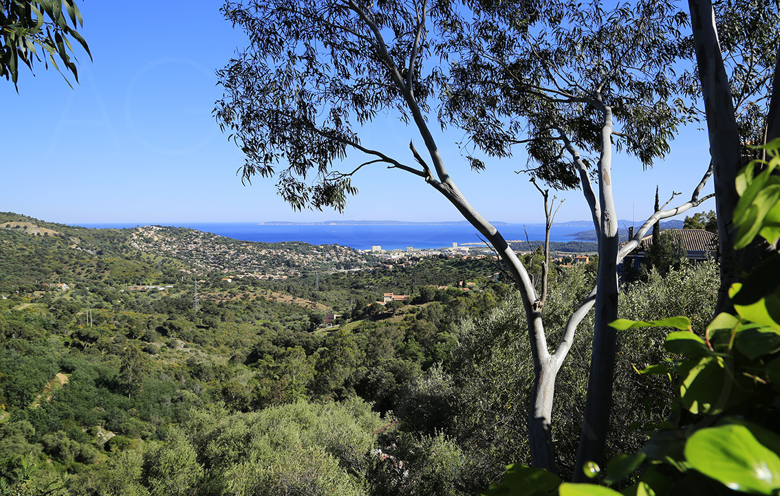 Propri t vendre bormes les mimosas var cote d 39 azur 4 chambres vue mer panoramique - Chambre d hote bormes les mimosas ...